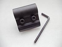 Крепление к оружию для фонарей 2 пол. алюминиевое универсальное (F3456)