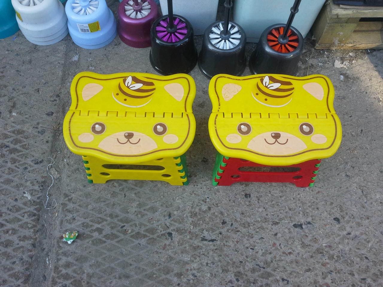 Складной табурет пластиковый (малый) Hello Kitty - Hoz-tovaru в Харькове
