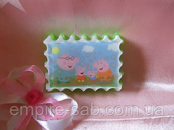 """Мыло с картинкой """"Свинка Пепа"""""""