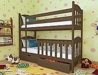 """Кровать двухъярусная  детская подростковая от """"Wooden Boss"""" Артур Плюс (спальное место 70 см х 140 см), фото 1"""