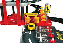 Гараж FERRARI игровой набор 3 уровня, 2 машинки 1:43 Bburago, фото 3