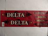 """Наклейки (набор)   Delta   (48х16см, красные)   """"SEA"""""""