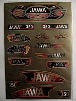 "Наклейки (набор)   ЯВА   (33х22см, бронзовые)   ""SEA"""