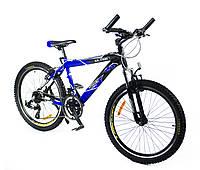 Велосип Азимут Ультра 24 дюйма +А алюминиевый Azimut Ultra mtv горный,  хардтейл