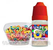 "Vape Wild ""Fruit Hoops"" (No Nicotine)30ml"
