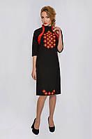 Женское вышитое платье 0905