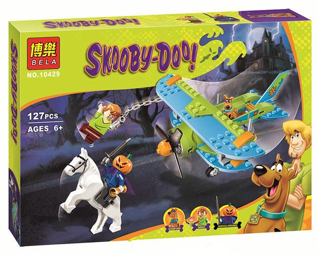 """Конструктор Bela Scooby Doo 10429 аналог Lego """"Приключение на самолете"""" 127 дет"""