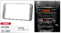 2-DIN переходная рамка TOYOTA Universal silver, CARAV 11-107