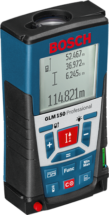 Лазерний далекомір BOSCH GLM 150 Professional
