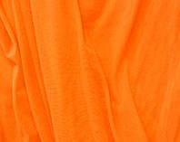 Стрейч-сетка ярко-оранжевая fluo