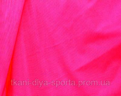 Стрейч-сетка ярко-розовая fluo