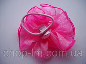 Резинка-бант (розовый), фото 3
