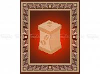 Схема вышивки бисером «Баночка для кофе» (A4)