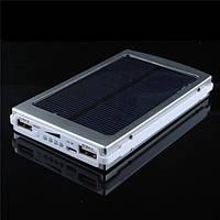 Зарядное устройство на солнечной батарее Power Bank Solar 15000mah+фонарик
