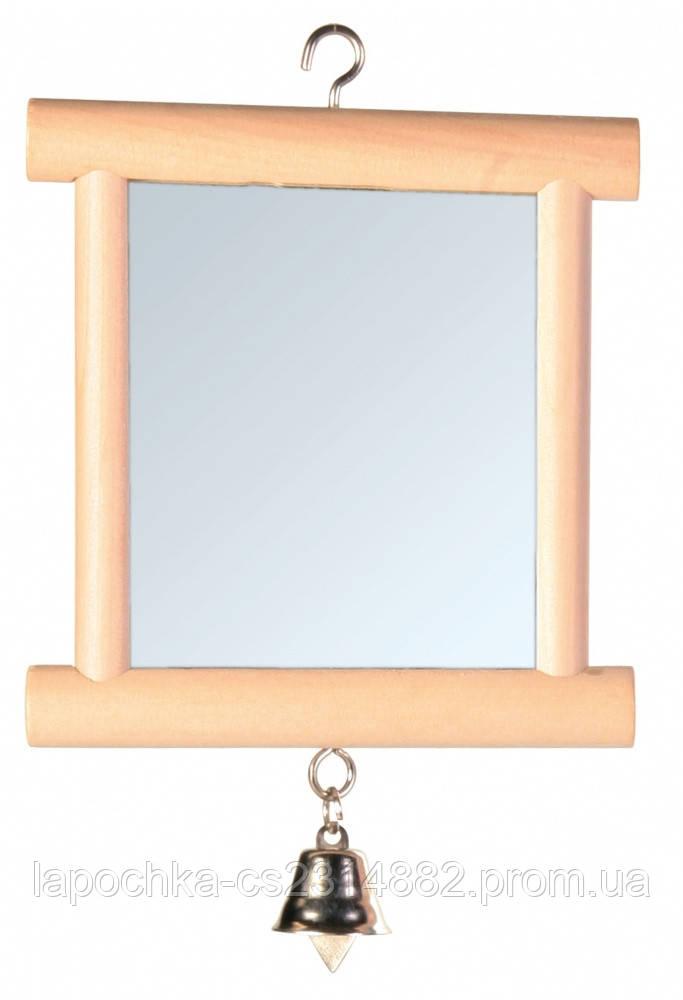 Trixie Зеркало в деревянной рамке