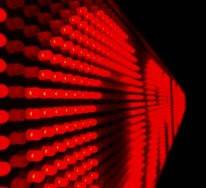 Светодиодная водонепроницаемая бегущая строка 167*23 Red красное табло), фото 3