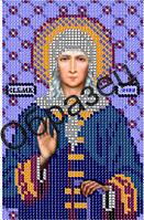 Схема для вышивки бисером «Св. Блаженная Ксения Петербургская»