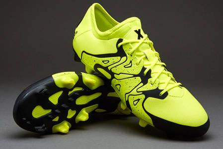 Бутсы Adidas X 15.1 FG B32782, Адидас Икс (Оригинал), фото 2