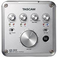 Аудио /MIDI интерфейс Tascam US-322