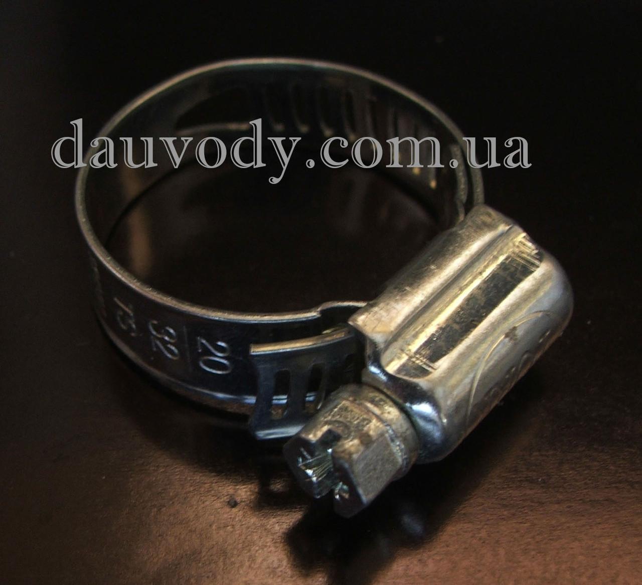 Хомут 16-25 мм для поливочного шланга (50 штук)