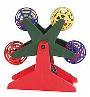 Карусель Trixie Ferris Wheel для птиц, 10см
