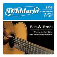 Струны для акустической гитары D'addario EJ35