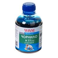 Чернила WWM для HP №177/85 200г Light Cyan Водорастворимые (H77/LC)
