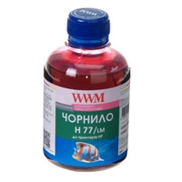 Чернила WWM для HP №177/85 200г Light Magenta Водорастворимые (H77/LM)