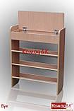 Полка для обуви с ящиком цвет Бук, фото 2