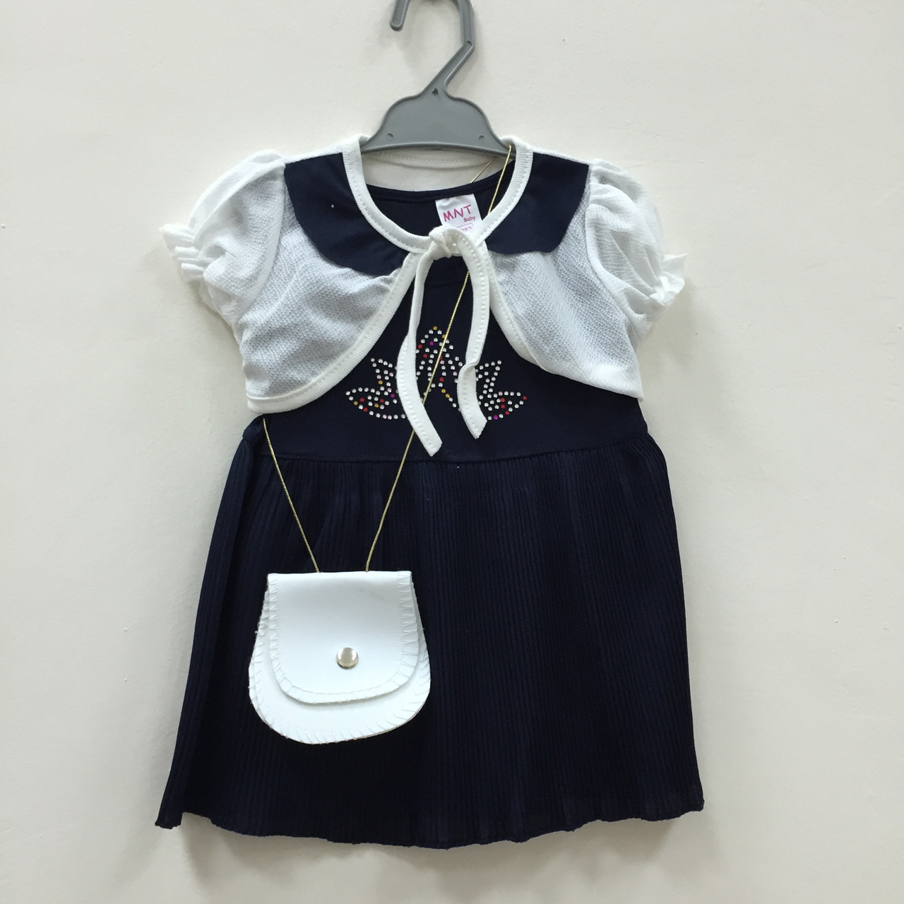 0852f11d9a6 Детское Платье нарядное с болеро для девочек оптом - Детская одежда оптом