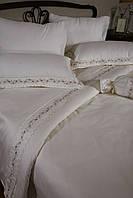 Элитное постельное белье Begonville Surprise лиловое евро