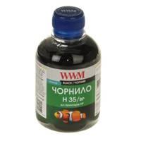 Чернила WWM для HP №21/129/121 200г Black Пигментные (H35/BP) для СНПЧ