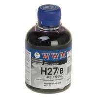 Чернила WWM для HP №27/56 200г Black Водорастворимые (H27/B)