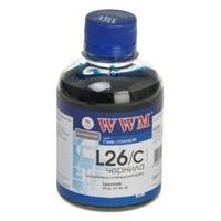Чернила WWM для Lexmark №26/27 200г Cyan Водорастворимые (L26/C)