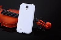 Силиконовый белый чехол для Samsung Galaxy S4