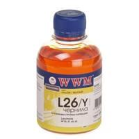 Чернила WWM для Lexmark №26/27 200г Yellow Водорастворимые (L26/Y)