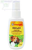Ушастик лосьон гигиенический с пчелопродуктами для очистки ушей собак и кошек, 75 мл, Пчелодар