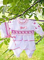 Комплект для новорожденной девочки на крестины
