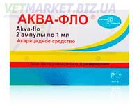Аква-Фло для профилактики и лечения варрооза медоносных пчел, 2 амп. по 1 мл, Униап