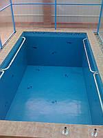 Изготовление бассейнов полимочевиной
