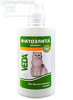 Фитоэлита шампунь для белоснежных кошек, 220 мл, Веда