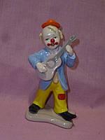 """Фигурка """"Клоун"""" фарфоровая статуэтка итальянской компании Pavone CMS-23/45 , 15см высота"""