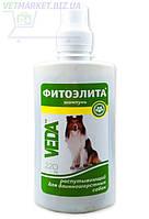 Фитоэлита шампунь распутывающий для длинношерстных собак, 220 мл, Веда