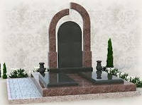 Памятники гранитные для двоих (Образцы №391)