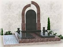 Пам'ятники гранітні для двох (Зразки №391)