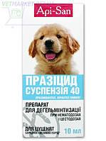 Празицид суспензия для щенков средних и крупных пород, фл. 10 мл, АПИ-САН