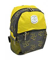 """Компактный рюкзак для города """"Lanpad"""" желтый, фото 1"""