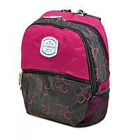 """Компактный рюкзачок для города """"Lanpad"""" малиновый"""
