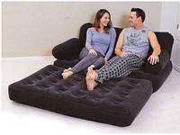 Надувной диван-трансформер 5 в 1 BestWay  «Comfort Quest» (193x152x64 см.) с электронасосом