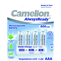 Camelion r 03/4bl 600 mah ni-mh (always ready) (nh-aaa600Аrbp4)